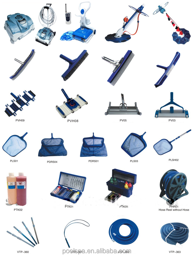 Pool tile cleaning equipment swimming pool vacuum cleaner for Swimming pool accessories