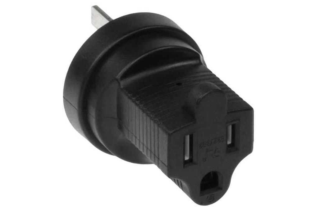 SF Cable, 3 prong Power Plug Adapter, Australia to NEMA 5-15R