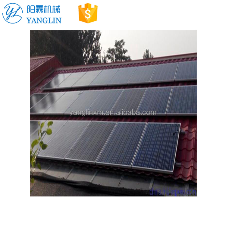 50000w Flat Roof Solar Panel Mounting System Bracket Mounting Structure For Solar Panel