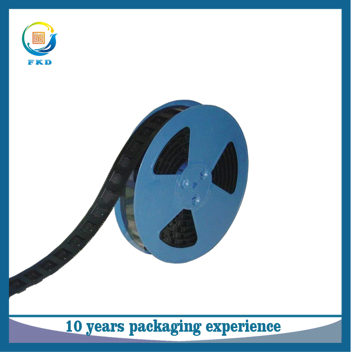 Widely use black PS embossed carrier tape for packaging electronics