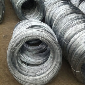 China round 4mm galvanized wire coil s235jr wire rod