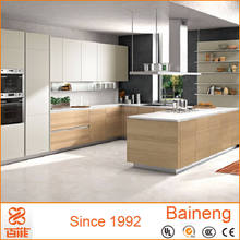 reliable quality cheap rta melamine kitchen cabinets with gloss finish kitchen hanging cabinets