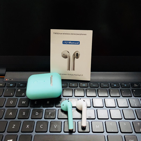 Factory wholesale i12 tws 5.0 earbuds bluetooths wireless headphone for <strong>apple</strong>