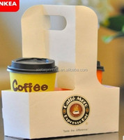 factory make cardboard double tea coffee paper cup holder