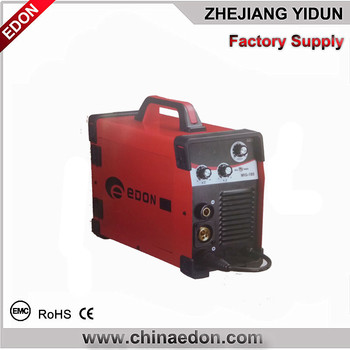 high frequency Portable DC mig 160 amp portable mig welder