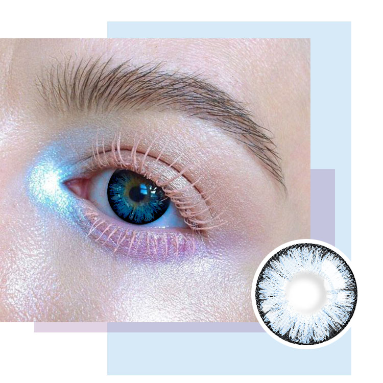 Realcon color contact lenses diameter 14.5 mm for big eyes
