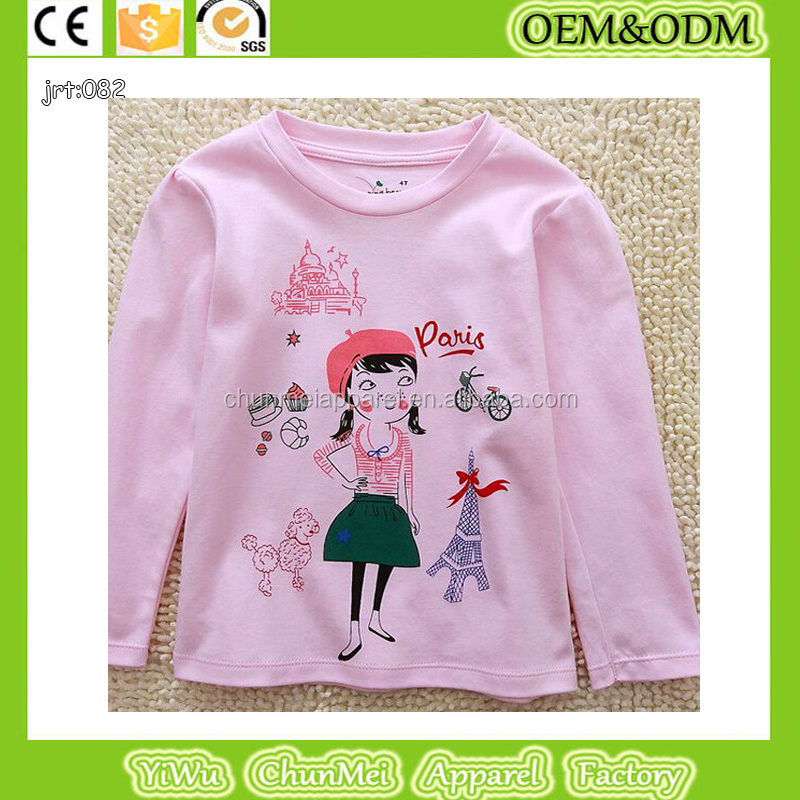baby t-shirt kids long sleeve tees children clothes baby fashion shirts 100% cotton t shirt