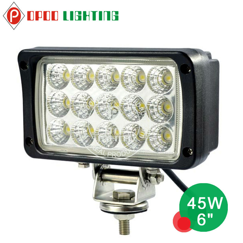"LED Light for Man Truck, 45W 6.0"" Auto LED Work Light"