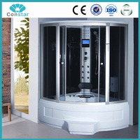 North American china manufacturer shower screen,shower glas panels,standard size sauna bathroom hydro portable shower stall