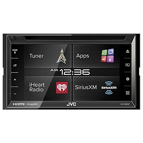 """JVC KW-V620BT 6.8"""" Display Double DIN Bluetooth In-Dash Car Stereo with SiriusXM, HDMI, iDataLink"""