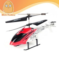 China Manufacture 2.5 CH Metal RC Helicopter with gyro and light Radio Control Toy