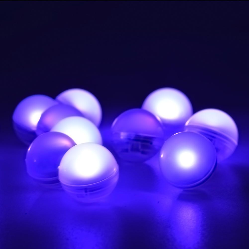 Baterai Dioperasikan Peri Mutiara Kolam Renang Apung Mini LED Bulat Bola Lampu untuk Pesta Pernikahan Dekorasi Acara
