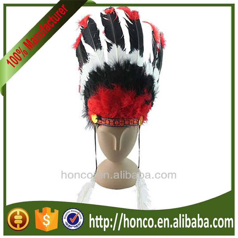 Brand new red indian mask with low price HC-M043