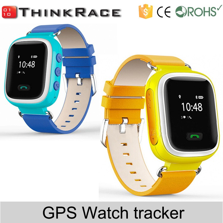 New Fashion 850/1900MHz wrist watch gps tracking kids watch phone