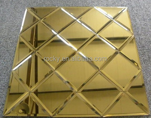 mirror tiles best 4-8mm high quality beveled mirrorbeveled edge adhesive mirror tiles