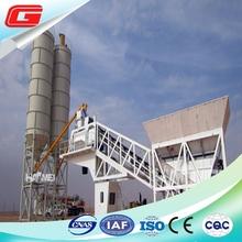 50 cbm truck mounted mobile eady mix concrete batching production plant