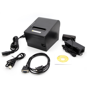 Department Stores/supermarket pos terminal 3inch USB receipt ticket thermal printer 80 mm with auto cutter