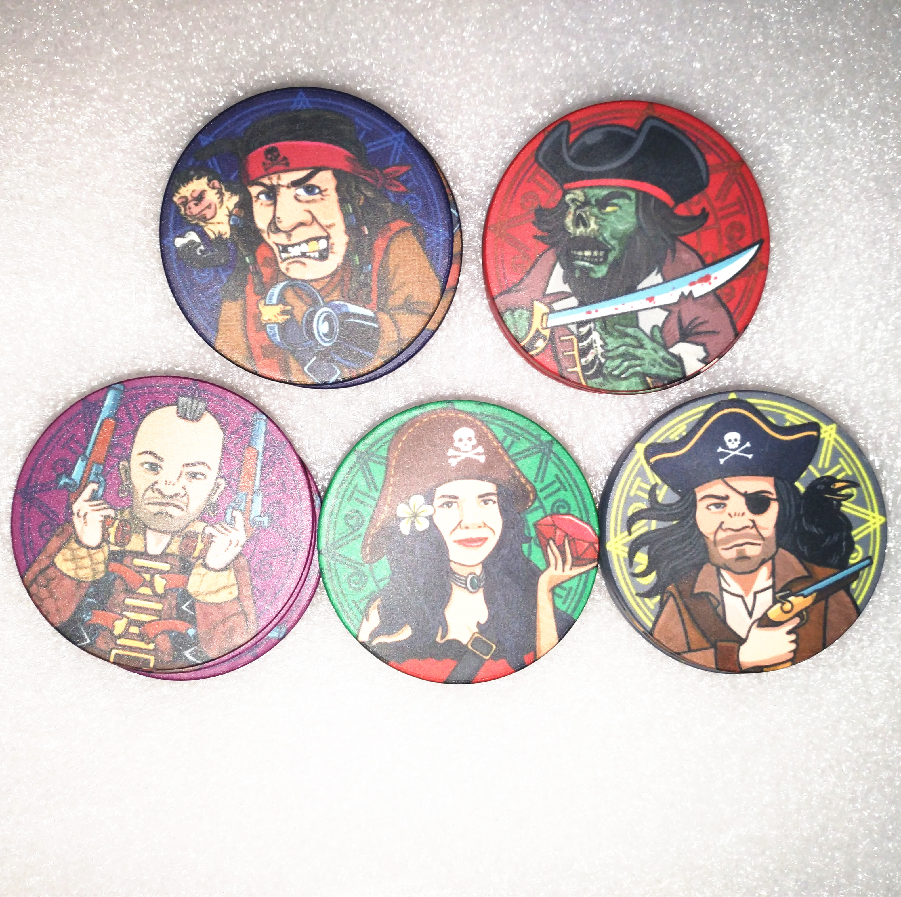 Alibaba.com / Custom made your design 10G   ceramic poker chips