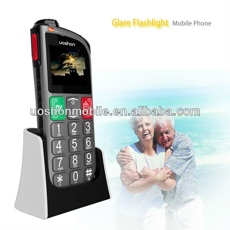 elderly GSM cellphone with big button/SOS/ mp3 /phone manufacturing company in china