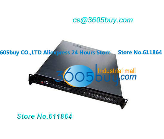 1U Server chassis 4 hard disk or two bit a bit CD-ROM 4 high speed fan PC plate