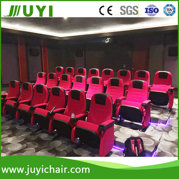 JY 626 JUYI Push Back Theater Chairs With Cup Holder Theater Chair Factory  Cinema Chairs