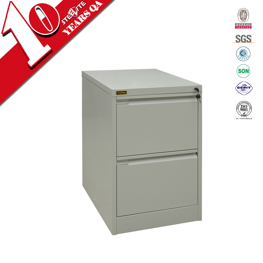 STEELITE Vintage metal 2 drawer cabinet /office furniture small metal drawer filing cbainet