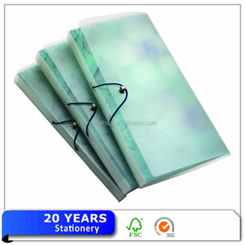 Handmade File Decoration Mini Pocket Folder