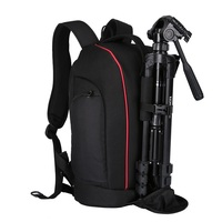2018 New Arrival Tigernu outdoor long camera bag backpack with tripod dslr camera backpack