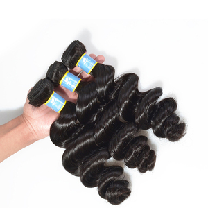 BBOSS Virgin pure milky way human hair, posa milky way hair extension jaipur, 10a grade virgin hair extension keratin