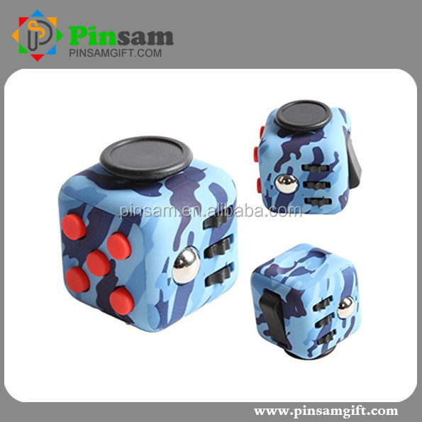 New Arrival Anti-Anxiety Finger Toy 6 Side Folding Magic Cube For Child And Adult Gifts