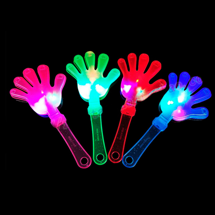 Noise Maker light clapper, konzert led clapper hands, benutzerdefinierte handklöppel für förderung SL003