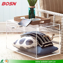 Stylish Design High Transparent Acrylic Trunk For Sale