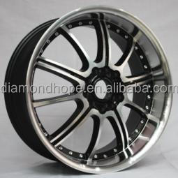 "Alloy Wheels Black Machined Face in china 17"" 18"" 20"" 22""(ZW-S117)"