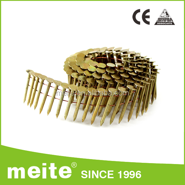 "High quality Meite 15 degree square bulk framing nails 1""-4"" 16000PCS/CTN For Pneumatic Coil Nailer"