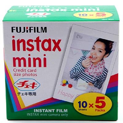 Подлинная 50 Листов Белый Край Fuji Fujifilm Instax Мини 8 Пленочной Для 8 50 s 7 s 7 90 25 SP-1 Мгновенный Камеры Polaroid Фотобумаги