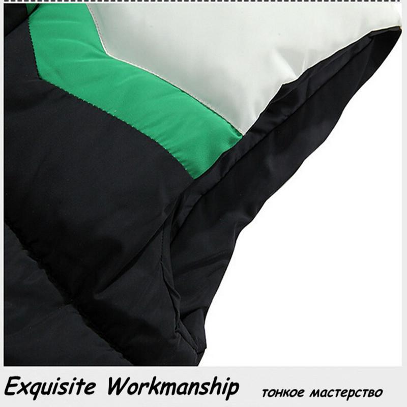 Верхняя одежда женщин теплая куртка жилетки вершины зимой теплый жилет с капюшоном куртка Большой размер жилет