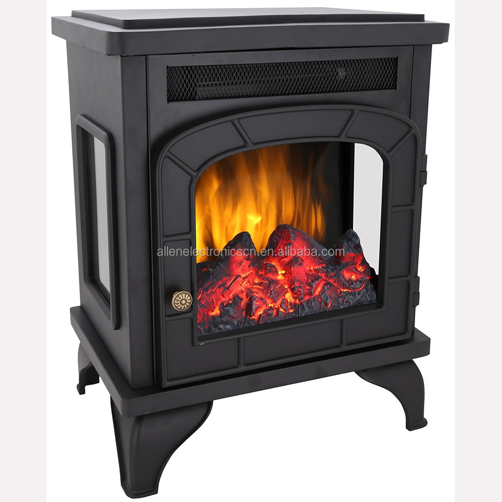 3 Sided Electric Peninsula Fireplace Fireplaces