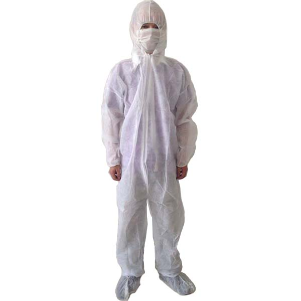 SMS fabric disposable water proof coverall - KingCare | KingCare.net