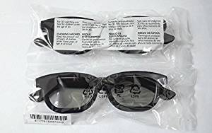 Pta436/00 Dual Gaming Glasses 3d Glasses for Philips Sony Lg Panasonic Toshiba 3d Tv (Pack of 2)