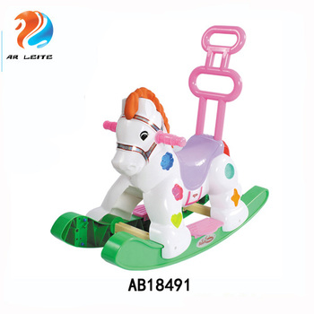 1a8a6b41a3ac New Design Baby Walker Baby Rocking Horse Swing Horse With Hand Bar ...