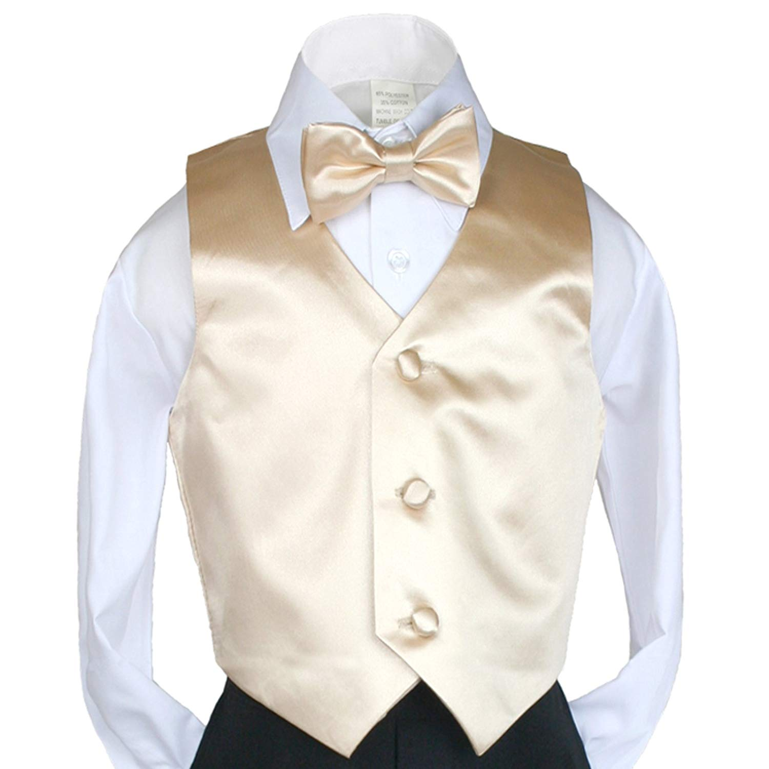 Coral Unotux Boys Satin Bow tie from Baby to Teen