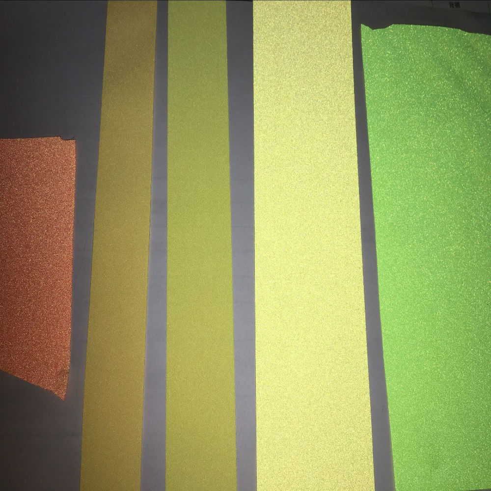 Colorful reflective fabric reflective tape glow in the dark