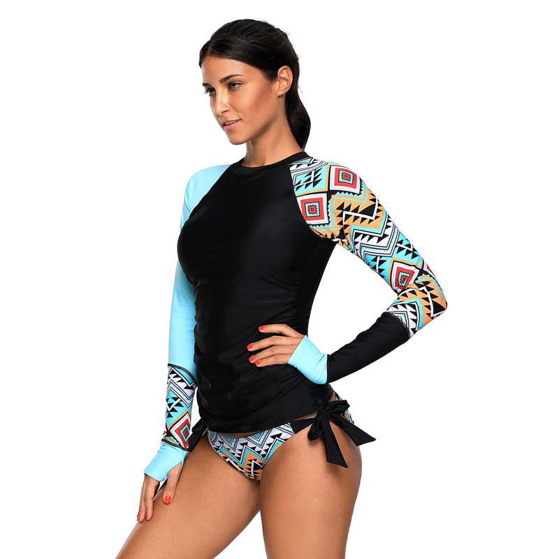 2019 New Arrive Lady Neoprene Swimwear Long Sleeve  Dry Surfing Diving Suit