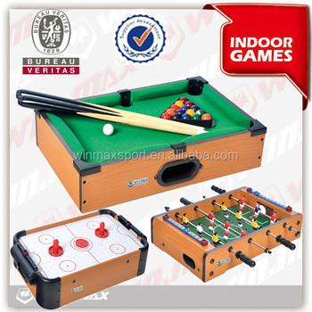Beau Mini Portable Air Hockey Table Game