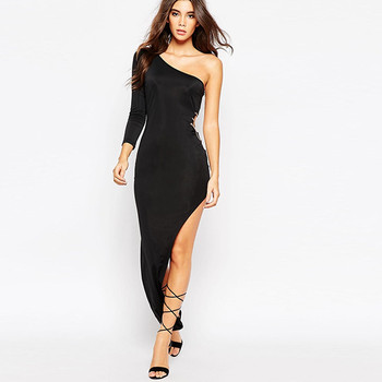 6e6382122908 One shoulder lady dress designs women fashion clubwear extreme sexy dress