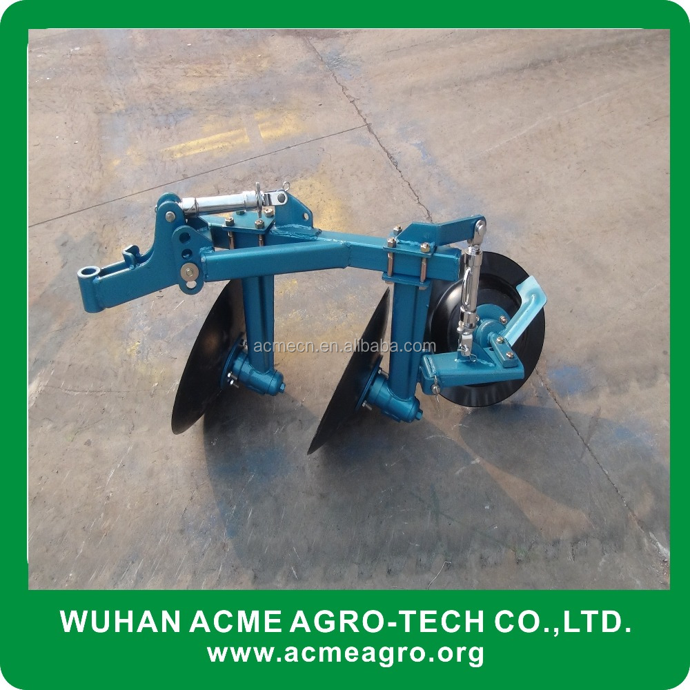 Farm Machinery Types Of Disc Plough/ Walking Tractor One Furrow ...