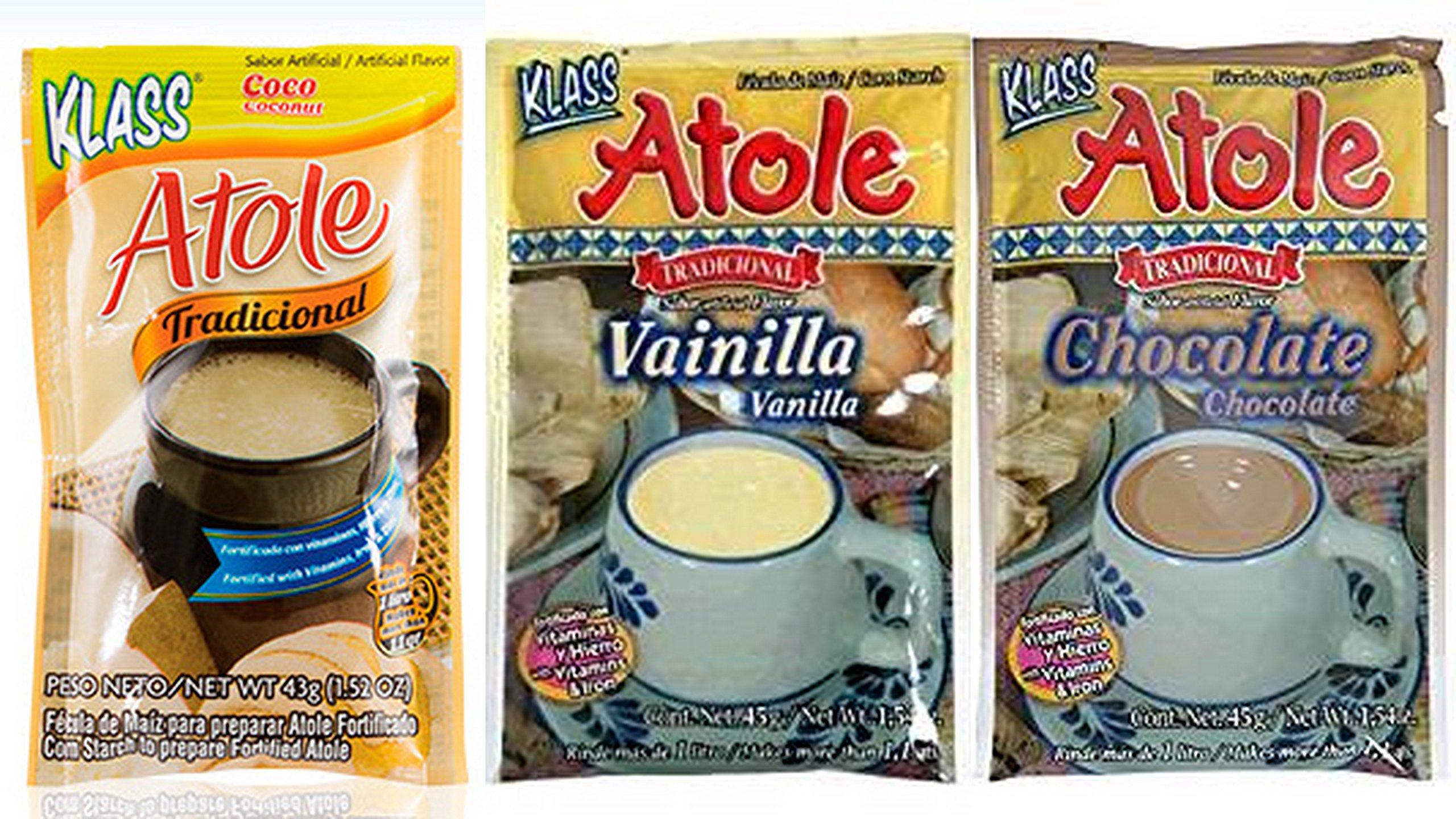 Klass Atole Variety Bundle, 1.52 oz (Pack of 9) includes 3-Pkt Chocolate + 3-Pkt Vanilla + 3-Pkt Coconut