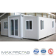 2 bedrooms portable ready made expandable container house folding home plans