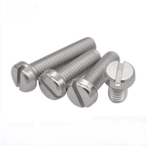 M4 M5 M6 Grade 4.8 Carbon Steel Zinc Plated Slotted Cheese Head Machine Screw