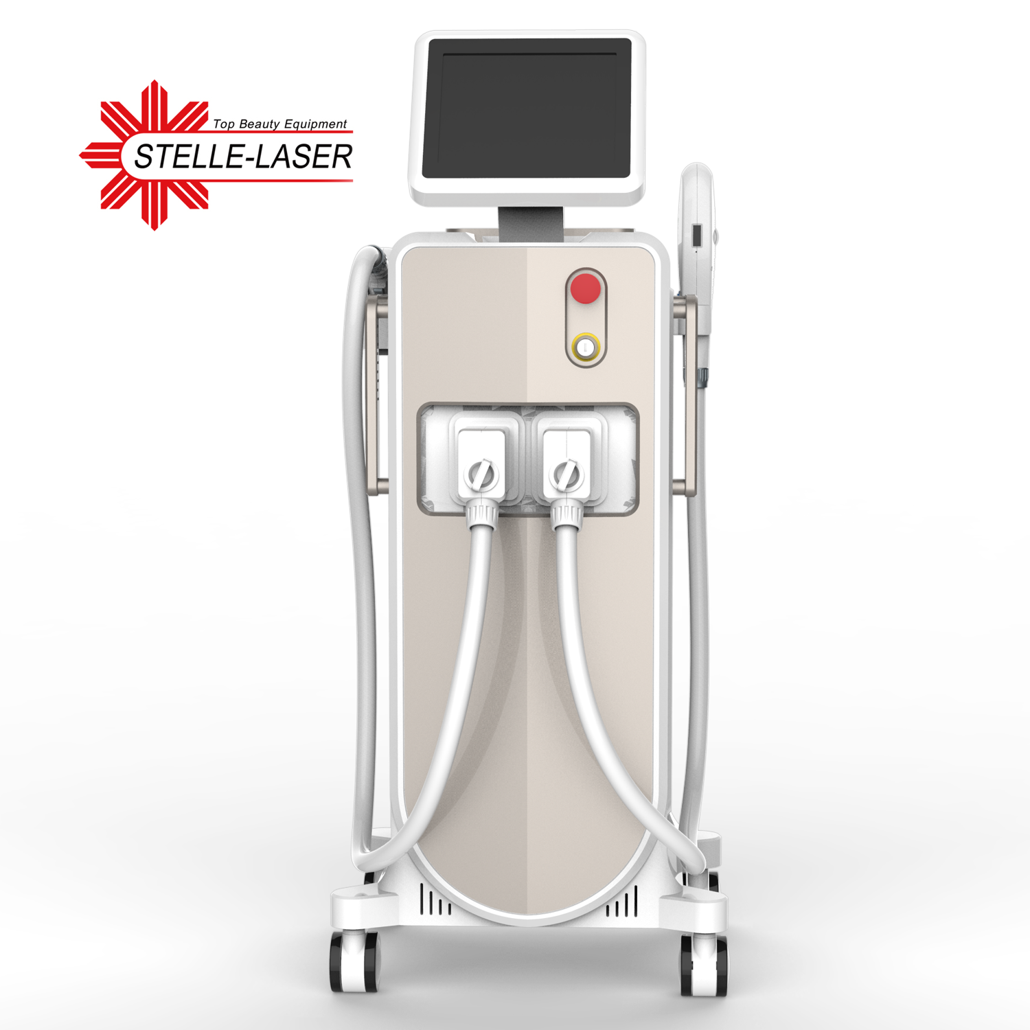 Hair Removal Beauty Equipment 808nm Diode Laser and IPL SHR фото